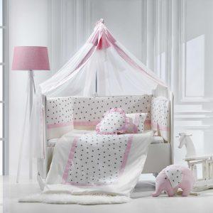 سرویس خواب مامی شاپ نوزاد نوجوان گارددار 9 تکه|سیسمونی نوزاد در مشهد|سیسمونی نوزاد|momi shop|سرویس خواب کودک